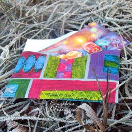 Елизавета Мелкозёрова, Мелкозёрова, Мелкозерова Лиза, мелкозерова, Melkozerova, Elizaveta Melkozerova, melkozerovaliza, открытки, авторские открытки, открытки Мелкозеровой, почтовые открытки, открытка, посткроссинг, postcrossing, новогодняя открытка, новый год, новогодний, комплект открыток, новогодний, рождественский, Рождество